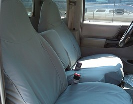RuggedFit 1998-2001 Ford Ranger XLT XCab Custom Fit Seat Covers Waterproof Gray - $199.00