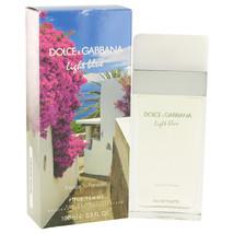 Light Blue Escape to Panarea by Dolce & Gabbana Eau De Toilette  3.3 oz,... - $66.33