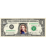 KATE MOSS on REAL Dollar Bill -  Collectible Celebrity Cash Gift Money - $5.55