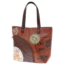 Tokyo Disney Store Limited Chip & Dale LP Record Tote Bag Hand Ladies Cases - $127.71