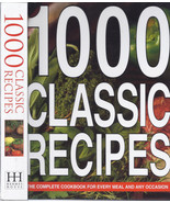1000 Classic Recipes by Anness Publishing Staff LARGE  HARDCOVER BOOK 51... - $7.95