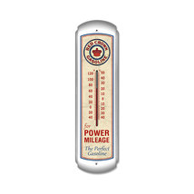 "Red Crown Gasoline 30"" Metal Thermometer Sign R... - $74.95"