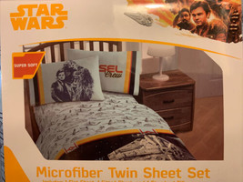 Disney Star Wars Super Soft Microfiber Twin Sheet Set - $18.99