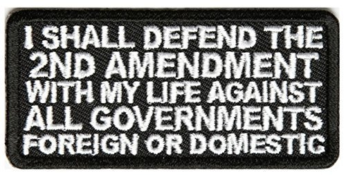 I Shall Defend The 2nd Amendment With My Life Against All Governments Foreign or