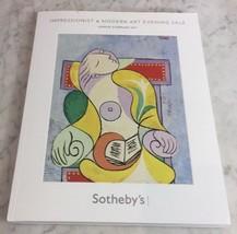 Sothebys London Impressionist and MODERN Art 8 Feb 2011 Auction Catalog ... - $29.02
