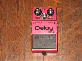 Boss DM-2 Analog Delay Pro Serviced Guitar Effect Pedal MIJapan 1982 Roland - $279.57