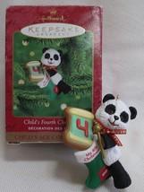 Hallmark ornament 1995 Child's Fourth Christmas - $4.74
