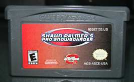 Nintendo GAME BOY ADVANCE - SHAUN PALMER'S PRO SNOW BOARDER (Game Only) - $5.00