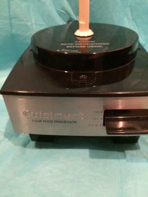 Cuisinart 7 Cup Food Processor ~ Cuisinart model ev sa cup food processor blender