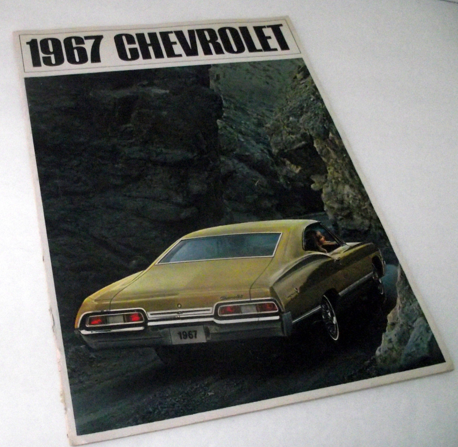 Primary image for 1967 Chevrolet Chevy Sales Dealership Caprice Impala Bel Air Brochure Vintage