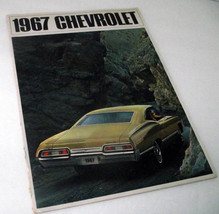 1967 Chevrolet Chevy Sales Dealership Caprice Impala Bel Air Brochure Vi... - $33.83
