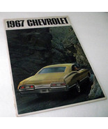 1967 Chevrolet Chevy Sales Dealership Caprice Impala Bel Air Brochure Vi... - $33.83