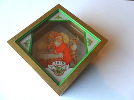 "Hallmark Santa Ornament Christmas Eve Surprise Santa Window Box Vintage 1979"" - $12.69"