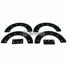 Snowblower Rubber Auger Blade Paddle Set fits John Deere M94573 M9574 Noma - $43.55