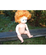 # VINTAGE SOVIET USSR RUSSIAN DOLL  HEIGHT 40 CM  WITH  MOVING EYES - $39.59