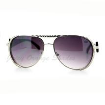 Womens Flat Top Aviator Sunglasses Luxury Designer Fashion Eyewear - $7.15