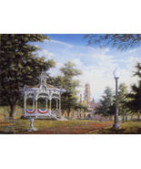 City Park Open Edition Print By Randy Souders, ... - $35.00