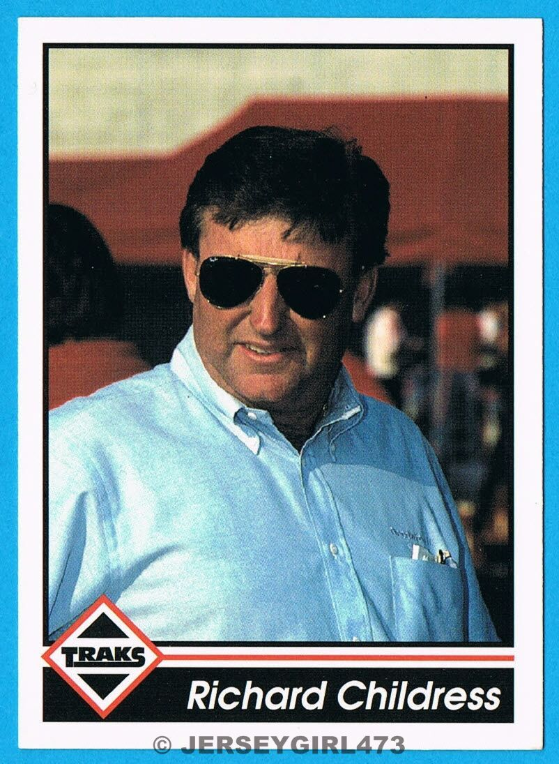 Richard Childress 1992 TRAKS NASCAR Racing Owner Card #54