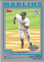 Juan Pierre ~ 2004 Topps Opening Day #14 ~ Marlins - $0.20