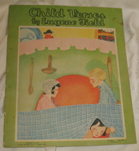 Vintage Child Verses by Eugene Field RARE Storybook 1931 - $75.00