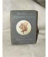 RARE 1903 THE TALE OF SQUIRREL NUTKIN Beatrix Potter 1st American Editio... - $385.00