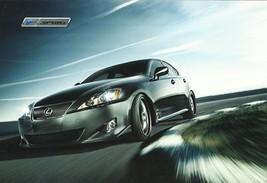 2010/2011 Lexus IS F SPORT parts accessories brochure sheet TRD - $6.00