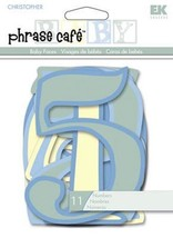 NEW EK Success Phrase Cafe Baby Faces Paper Numbers 1-10. For Scrapbooking - $3.25