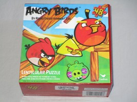 Rovio Angry Birds 48-Piece 3D Lenticular Puzzle **NEW** - $10.39
