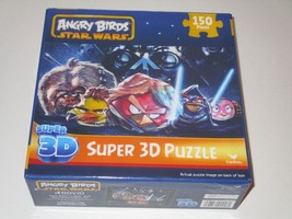 Cardinal Angry Birds Star Wars Super 3D Puzzle **NEW** - $11.87