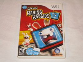 Rayman Raving Rabbids TV Party (Wii, 2008) **COMPLETE** - $11.87