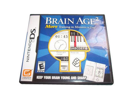 Primary image for Brain Age 2: More Training in Minutes a Day (Nintendo DS, 2007) CARTRIDGE ONLY