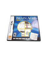 Brain Age 2: More Training in Minutes a Day (Nintendo DS, 2007) CARTRIDG... - $4.74