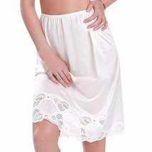 New Women's Premium Illusion Classic Half Slip Skirt With Lace Trim 1017/1817 image 2