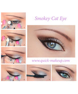 Quick Eye Makeup Stencils Tool for Eyeliner Eyeshadow Eyebrow Free Shipp... - $15.00