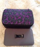 Genuine Coach Jewelry Case - Purple, - $65.00