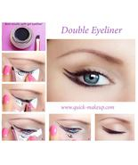 Quick Makeup Stencils - Cosmetic Tool for Applying Eyeliner, Eye Shadow,... - $15.00