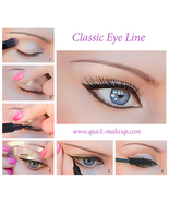 Quick Makeup Stencils Cosmetic Tool for Eyeline... - $15.00