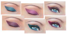 Almond eye make up  colors thumb200