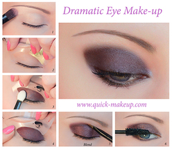Dramatic eye make up thumb200