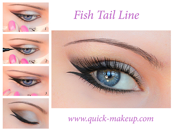 Fish tail line