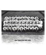 1947 BOSTON RED SOX 8X10 TEAM PHOTO BASEBALL PICTURE MLB