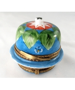 Limoges Box - Double Hinged Cheese Dome with Milk Can - Peint Main  - $95.00