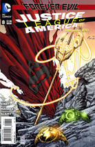 JUSTICE LEAGUE of AMERICA #8 (New 52) NM! - $2.00