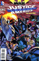 JUSTICE LEAGUE of AMERICA #7 (New 52) NM! - $2.00