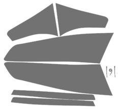 Subject 9 - Kia Optima Pre-cut vinyl overlay tail light PLUS tint kit (2... - $19.79