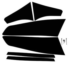Subject 9 - Kia Optima Pre-cut vinyl overlay tail light PLUS tint kit (2010 2... - $19.79