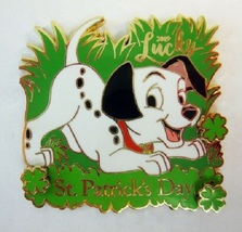Disney 101 Dalmatians DLR/WDW St. Patrick's Day 2019 LE 4000 Pin - $26.34