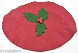 Longaberger Joyful Chorus Basket Fabric Lid Cover Paprika Accent Home Decor - $12.99