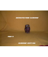 Cloisonne' -Owl Figurine,Black w/ Gold Accents.Hooty - $44.99