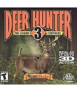 Deer Hunter 3: The Legend Continues Jewel Case (PC, 1999) - Game Only! - $8.45